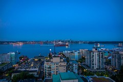 Our amazing view in North Vancouver, BC, Canada for the next month.  It was so great to be back in our old neighbourhood.