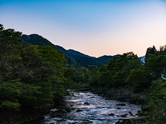 Japan collection: Nikko (nicolasgirodon) Tags: japan nikko travel discovery beautiful evening bluehour sky river landscape leisure holidays japon paysage montagne rivière decouverte voyage sunset soiree olympus zuiko1240mm omdm5mii