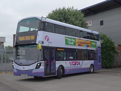 I'm Not One Of The Locals.... First York SK17 HHD ( 35100 ) (munden.chris) Tags: first york leeds hunslet wright streetdeck 35100 sk17hhd