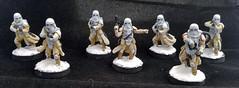 Snowtroopers (ajf798) Tags: starwarslegion legion starwars sith jedi leia darth stormtrooper snowtrooper speeder imperial rebel walker atst atrt scoutbike