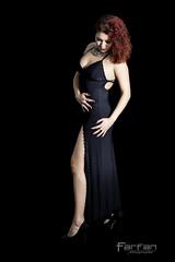 Jenny (Jose Luis Farfan) Tags: jenny farfan modelo model woman mujer chica girl pelirroja negro black rizo tacon elegancia belleza