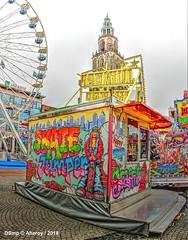 Funfair.Groningen Stad,the Netherlands,Europe (Aheroy) Tags: aheroy groningen aheroyal kermis meikermis funfair groningenstad skatejumper mayfunfair foire feria spasmesse tonemapped