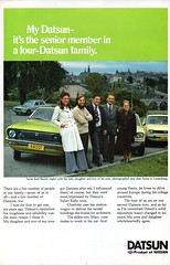 1977 Datsun 120Y Sunny & Range Luxembourg Original Magazine Advertisement550 (Darren Marlow) Tags: 1 2 7 9 19 77 1977 d datsun 120y y s sunny n nissan c car cool collectible collectors classic a automobile v vehicle j jap japan japanese asian 70s