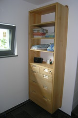 "Badschrank Erle massiv geölt • <a style=""font-size:0.8em;"" href=""http://www.flickr.com/photos/162456734@N05/28860721068/"" target=""_blank"">View on Flickr</a>"