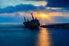 When the Light Goes Out (George Plakides) Tags: wreck edroiii peyia paphos sunset sea water clouds longexposure leendfilter bigstopper