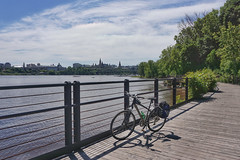 Explorations of the paths around Ottawa/Gatineau (beyondhue) Tags: ncc path bicycle bike cycling recreation ottawa river beyondhue gatineau parliament canadian summer