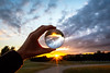 Sunset | #GlassBallProject #163/365 (A. Aleksandravičius) Tags: hand sunset holding kaunas wide angle nature sun glass ball lithuania europe 2018 lietuva glassball project nikoneurope glassballprotography crystalballphotography nikon 20mm f18g nikkor 365one 365days 3652018 d750 nikond750 20mmf18g afdnikkor20mmf18ged nikkor20mm nikon20mm18g nikon20mm 365 project365 163365 crystalball throughthecrystalball
