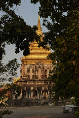 Wat Saen Muang Ma Luang (Thomas Mülchi) Tags: chiangmai chiangmaiprovince thailand 2018 sunny watsaenmuangmaluang wathuakhang sky buddhism buddhisttemple temple elephants changwatchiangmai th