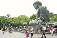 Daibutsu (Great Buddha) of Kamakura, Japan. (jansmh) Tags: daibutsu great buddha kamakura japan äventyr semester holiday