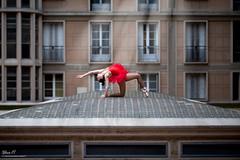 Marina (sylvain.bernardin) Tags: nikon normandie normandy nikond800 d800 dance dancer danseuse ballet street streetdance red lehavre lehavretourisme lhlehavre lh sylvainbernardin