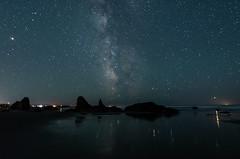 Bandon Oregon6-2018-14 (Ranbo (Randy Baumhover)) Tags: oregon oregoncoast pacificocean stars milkyway waves water