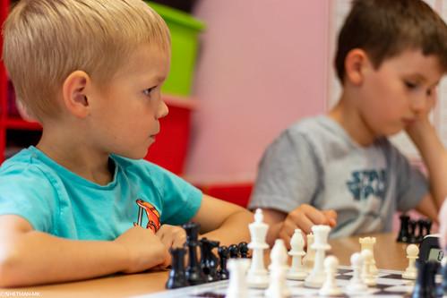 VIII Turniej Szachowy o Mistrzostwo Przedszkola Europejska Akademia Dziecka-37