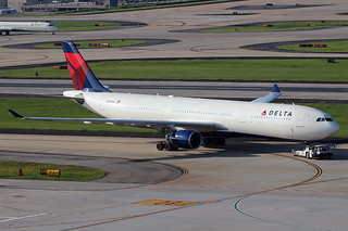 N817NW - Delta Airbus A330-300