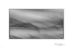 Charcoal Lofoten (ICM & Me) Tags: 2018 lofoten skjelfjord norway icm intentionalcameramovement multipleexposure blackwhite flou