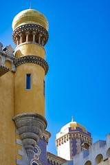 Palácio Nacional da Pena (Toledo 22) Tags: burg palast palácionacionaldapena portugal yellow castle schloss sintra