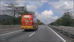 Malaysia-Highway Perak 20180121_130814 LG (CanadaGood) Tags: asia asean seasia malaysia kedah tree highway bus canadagood 2018 thisdecade color colour green cameraphone