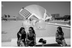 L'Hemisfèric # (area51delcorazon) Tags: valencia cac caacc calatrava ciutatdelesartsilesciencies ciudaddelasartesylasciencias palaudelesarts palau arts