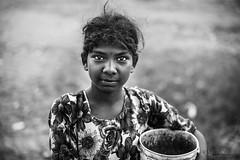 The Eyes (Partha Dalal) Tags: indian girl portrait blackandwhite nikond750 manuallens poorgirl rural ruralbengal ruralindia streetofindia nikonflickraward