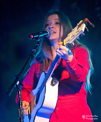 Jade Bird @ SXSW 2018 (Kirk Stauffer) Tags: kirk stauffer photographer nikon d5 adorable amazing attractive awesome beautiful beauty charming cute darling fabulous feminine glamour glamorous goddess gorgeous lovable lovely perfect petite precious pretty siren stunning sweet wonderful young female girl lady woman women live music tour concert show stage gig singer vocals perform performing musician band lights lighting indie folk country long brown hair red lips blue eyes white teeth model tall fashion style portrait photo smile smiling play acoustic guitar english