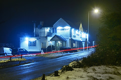 The Fingerpost Pub, Pelsall 03/03/2018 (Gary S. Crutchley) Tags: pelsall winter cold snow freezing ice uk great britain england united kingdom urban town townscape walsall walsallflickr walsallweb black country blackcountry staffordshire staffs west midlands westmidlands nikon d800 history heritage local night shot nightshot nightphoto nightphotograph image nightimage nightscape time after dark long exposure evening travel street slow shutter raw