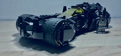 The Batmobile (Supremedalekdunn') Tags: lego batman batmobile dc comics stories group supremedalekdunn afterburner armour plating cowl cape bruce wayne