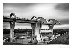 How To Move Water (don't count the pixels) Tags: scotlandlandscape architecture canal longexposure falkirk falkirkwheel builtenvironment technology blackandwhite monochrome