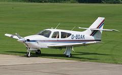 G-BDAK Sywell 03-06-18 (IanL2) Tags: rockwell commander sywell gbdak aerodrome northamptonshire aircraft