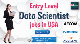 Entry Level Data Scientist jobs in USA (3)