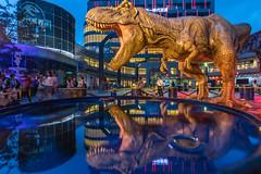 801A9659 (鹽味九K) Tags: 台北 台北市 台灣 tw reflection taiwan taipei dinosaur 市政府捷運站 侏儸紀 photography