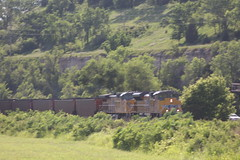 57362 (richiekennedy56) Tags: unionpacific sd70ace ac44cw up8858 up6840 kansas wyandottecountyks bonnersprings sunflower railphotos unitedstates usa