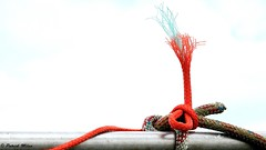 Ropes in the sky (patrick_milan) Tags: red rouge rope ship boat marine