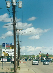 Sheridan, Wyoming (J_Piks) Tags: usa street road highway streetlights streetlighting lampposts telegraphpoles