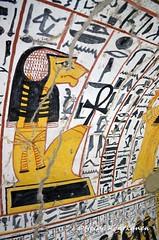 Tomb TT219 (konde) Tags: baboon ankh tt219 19thdynasty newkingdom deirelmedina luxor ancientegypt thebes hieroglyphs tomb nebenmaat