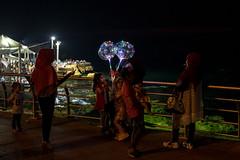Eid Mubarak (C.Stramba-Badiali) Tags: beyrouth lebanon syrianrefugees eid alfitr night beirut muslim muslimwoman family corniche seaside middleeast refugees
