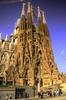 La Sagrada Familia (Sabreur76) Tags: modernisme artnouveau nikond7000 tamron18400 vicençfeliú vicenç feliú barcelona catalunya hdr photomatix travel travelphotography sabreur76 architecture stonework building sagradafamilia church churches antonigaudí gaudí