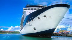 Big Boat (mikederrico69) Tags: boat big cruise trip summer water tropical travel ocean visit ship celebritysummit
