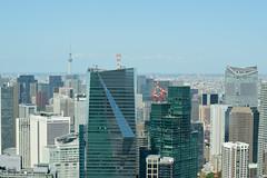 Skyscrapers (varnaboy) Tags: moritower tokyo japan view skyscrapers city urban skyscraper roppongi roppongihills minato