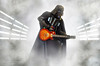 STAR WARS - Darth Vader playin' a Gibson Les Paul - 501st Italica Garrison all'Omnia Center per la proiezione di SOLO (Alessandro_Morandi) Tags: star wars darth vader playin metallica 501st italica garrison allomnia center per la proiezione di solo