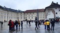 Third Courtyard, Prague Castle, Hradčany, Prague, Czech Republic (David McKelvey) Tags: 2018 europe czech republic prague praha hradčany castle district
