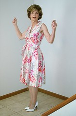 Floral Wrap Dress (4 of 5) - The Cheer (s_a_essay) Tags: transgender 4 1 3