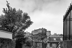 Wander with Alastair May 23rd 2018  (27 of 45) (Philip Gillespie) Tags: edinburgh scotland 2018 may summer spring canon 5dsr street people buildings architecture windows monuments castle historic old vennel cranes sky clouds sun water trees park arch court balmoral hotel lines shapes colour color green blue red yellow orange birds cats dogs duck goose heron pond lake flying swimming man woman statue horse folly path black white mono monochrome bike road angles flags bunting art artistic shade shadow