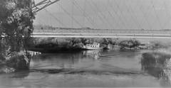 WP_20180602_18_54_16_Pro (www.ilkkajukarainen.fi) Tags: viro estonian water vesi joki river bridge silta motor boat blackandwhite mustavalkoinen monochrome visit travel traveling happy life