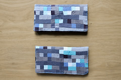 Minecraft Inspired Quilted Checkbook Cover (osiristhe) Tags: nikond5100 18200mm quilting sewing needlework minecraft