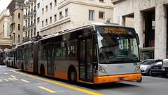 AMT 2106 (Lu_Pi) Tags: amt genova autobus bus filobus filovia filosnodato autosnodato trolleybus vanhool ag300t vosslohkiepe amtgenovalinea20 deviazioni