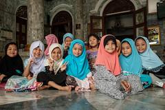 Kindergarten at the Mosque (Goran Bangkok) Tags: bangkok thailand islam children mosque muslim girls