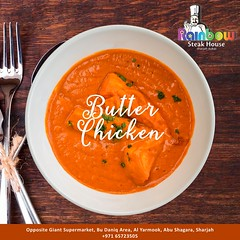 Rainbow Steak House | Butter chicken (rainbowsteakhouseuae) Tags: butterchicken chickenmakhani murghmakhani indiansubcontinent chicken butter butterchickenrecipes arabiancusine ramadan foodpics food foodie foodphotography uaerestaurants uaefood sharjahfoodie dubaifoodies dubaifood foodlovers sharjah dubai rainbow rainbowsteakhouse rainbowsteakhousesharjah uaefoodculture dubaifoodfestival dinner lunch buffet