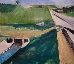 Richard Diebenkorn, Freeway and Aqueduct, 1957 4/24/18 #lacma