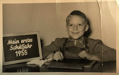 My first school year 1955. (Aben on the Move) Tags: