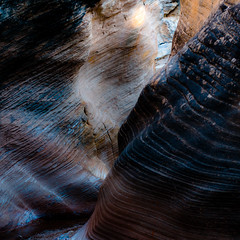 In Canyons 237 (noahbw) Tags: d5000 grandstaircaseescalantenationalmonument nikon utah williscreek abstract autumn canyon desert erosion landscape lines natural noahbw rock slotcanyon square stone