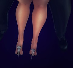Late night dance (Osiris LeShelle) Tags: secondlife second life couple dance dancing club high heels